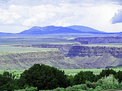 Photograph - Rio Grande Gorge by Catherine Link
