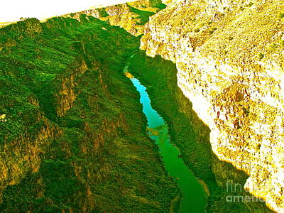 Rio Grande Gorge Original by Chuck Taylor