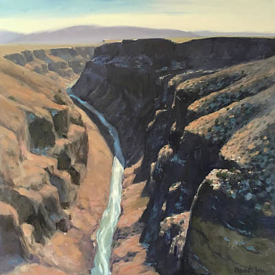 Painting - Rio Grande Gorge by Elizabeth Jose
