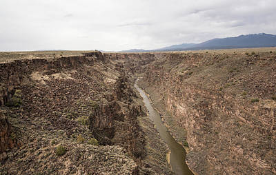 Photograph - Rio Grande Gorge by Tom Cochran