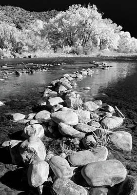 Photograph - Rio Grande-infrared by Britt Runyon