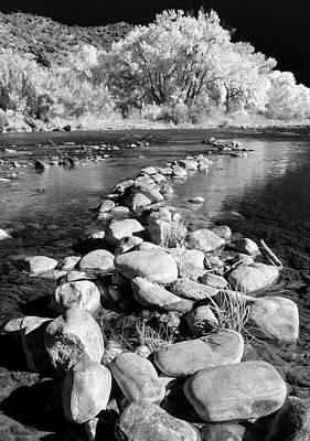 Photograph - Rio Grande-infrared by Britt Runyon