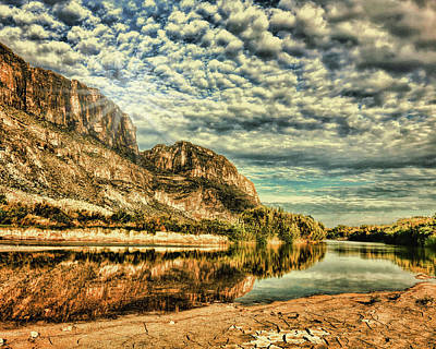 Photograph - Rio Grande Noon by Judy Vincent