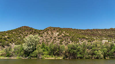 Photograph - Rio Grande Pilar New Mexico by Lawrence S Richardson Jr