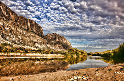 Photograph - Rio Grande River 1 by Judy Vincent