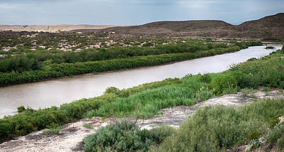 Photograph - Rio Grande River Bbnp by Rospotte Photography