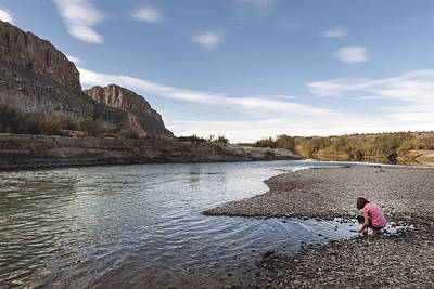 Photograph - Rio Grande River In Big Bend National Park by Carol M Highsmith