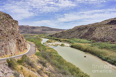 Landscapes Photograph - Rio Grande Scenic Overlook by Tod and Cynthia Grubbs