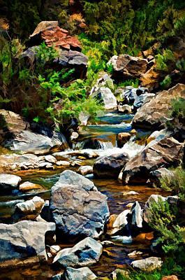 Photograph - Rio Hondo by Charles Muhle