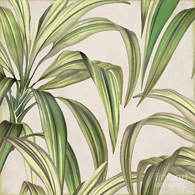 Tropical Plant Painting - Rio I by Mindy Sommers