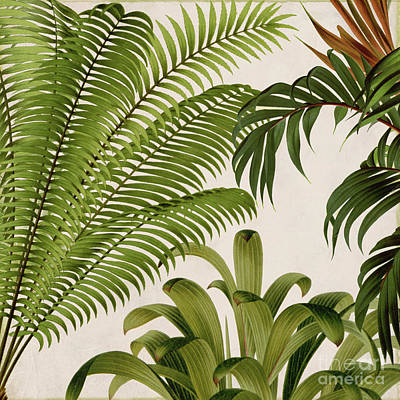 Tropical Plant Painting - Rio II by Mindy Sommers