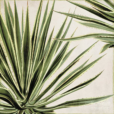 Tropical Plant Painting - Rio Iv by Mindy Sommers
