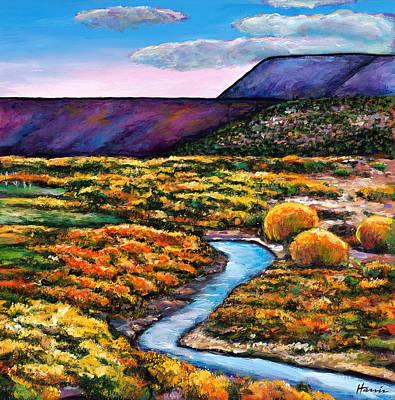 Chama River Painting - Rio by Johnathan Harris