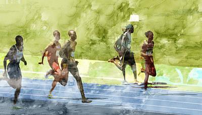American Painting - Rio Olympic 16 by Jani Heinonen