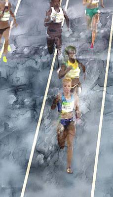 American Painting - Rio Olympic 91 by Jani Heinonen