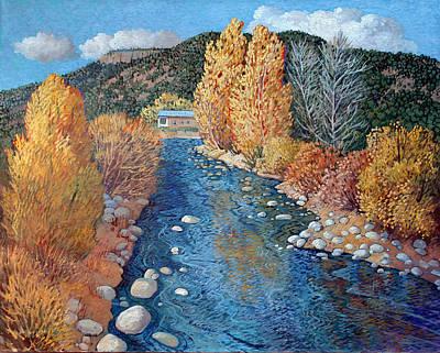 Painting - Rio Pueblo by Donna Clair