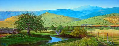 Randall Quick Painting - Rio San Jose by Randall R Quick