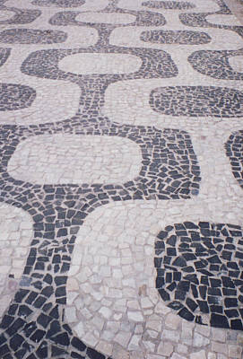 Rio Sidewalk Art Print