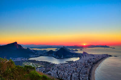 Photograph - Rio Sunrise by Kim Wilson