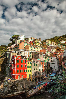 Photograph - Riomaggiore 1 by Art Ferrier