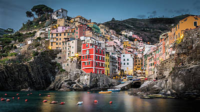 Photograph - Riomaggiore - Cinque Terre by Michael Thomas