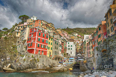 Photograph - Riomaggiore by Jennifer Ludlum