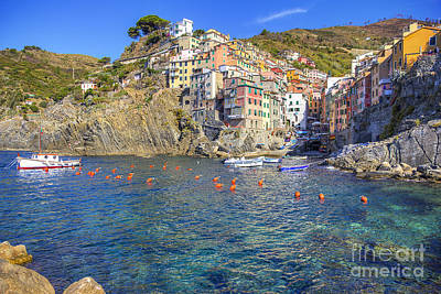 Photograph - Riomaggiore by Spencer Baugh