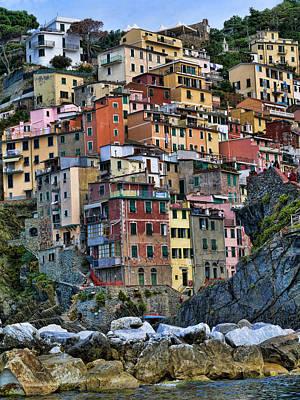 Photograph - Riomaggiore by Vickie Bushnell