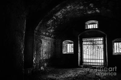 Photograph - Rioseco Abandoned Abbey Bw by RicardMN Photography