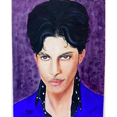 Oil Painting - Rip Prince by Deedee Williams