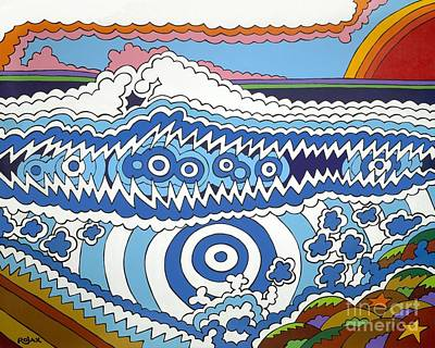 Painting - Rip Tide by Rojax Art