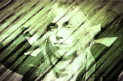 Jimmy Page Painting - Rip Tom Petty by Enki Art