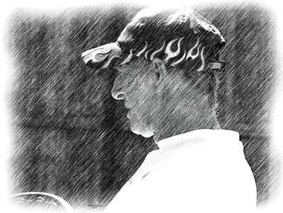 Digital Art - Rip Uncle Frankie by Artful Oasis
