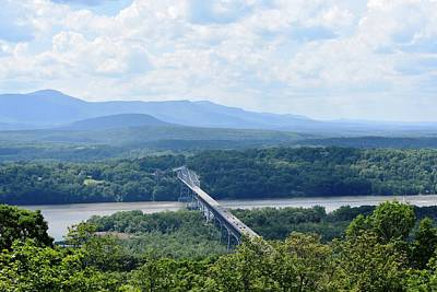 Photograph - Rip Van Winkle Bridge And The Catskills I by Nina Kindred