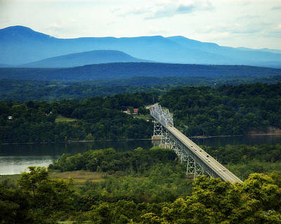 Photograph - Rip Van Winkle Bridge by Bruce Carpenter