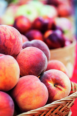 Photograph - Ripe Peaches For Your Kitchen by Vishwanath Bhat