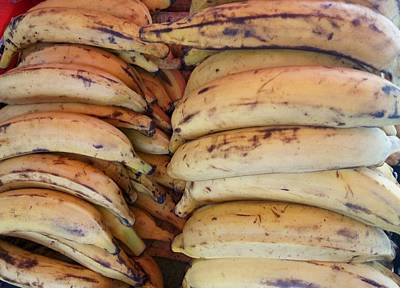 Photograph - Ripe Plantains - Catford Market by Mudiama Kammoh