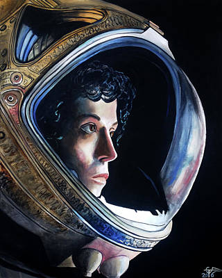 Painting - Ripley by Tom Carlton