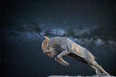 Photograph - Ripping Through The Galaxy by JC Findley
