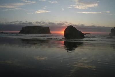 Photograph - Ripple Bandon Sun by Dylan Punke