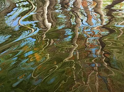 Charles River Painting - Ripple by Jason Sawtelle