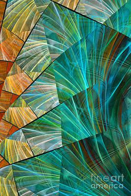 Digital Art - Rippled by Amy  Gillespie