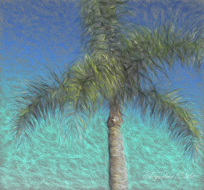 Digital Art - Rippled Palm by Jacqueline Sleter