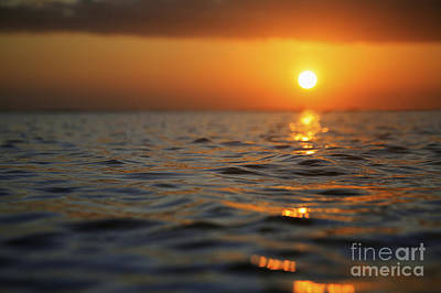Rippled Sunset Art Print by Brandon Tabiolo - Printscapes