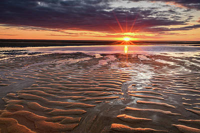 Photograph - Ripples Aglow by Michael Blanchette