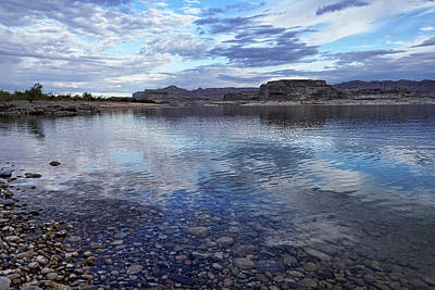 Photograph - Ripples And Reflections by Leda Robertson