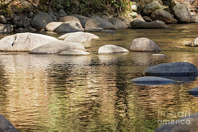 Photograph - Ripples And Rocks by Linda Lees