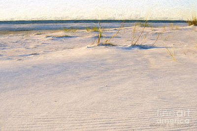 Photograph - Ripples In Sand On Beach by David Arment