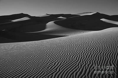 Photograph - Ripples In The Sand by Timothy Johnson