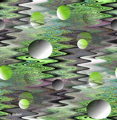 Digital Art - Ripples by Iris Gelbart
